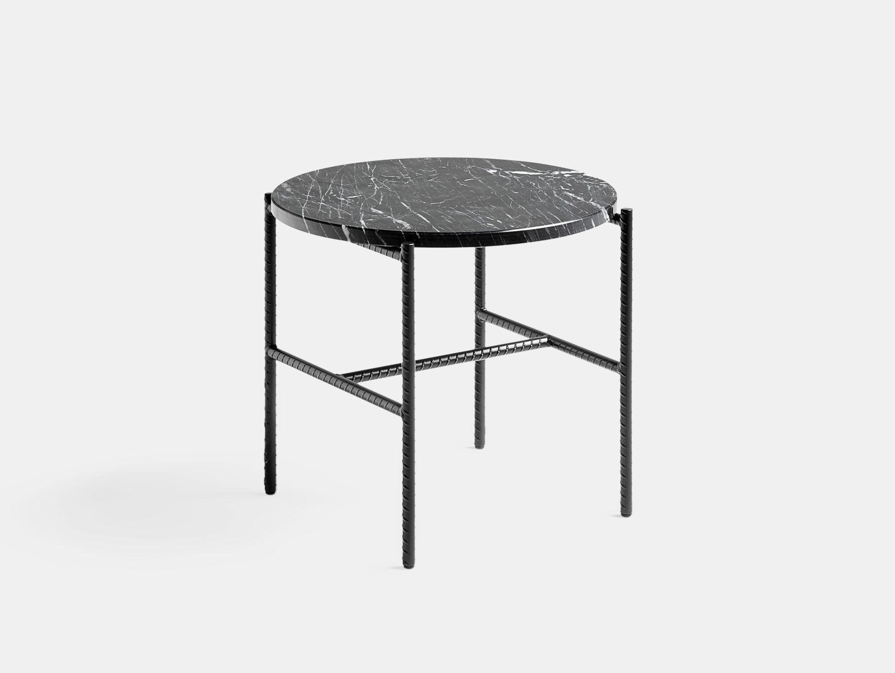 Hay Rebar Side Table Marble Sylvain Willenz