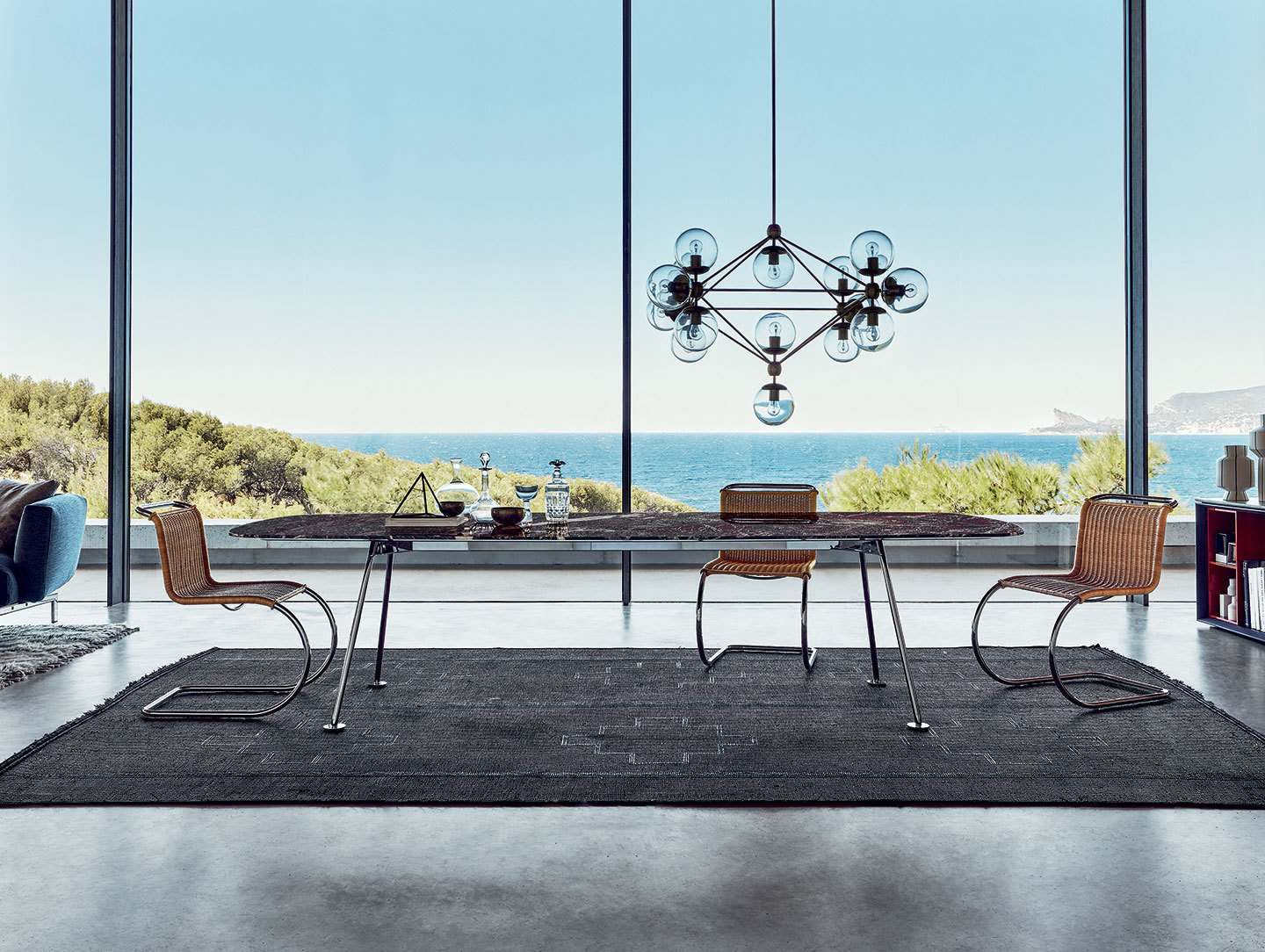 Knoll Grasshopper Dining Table Piero Lissoni
