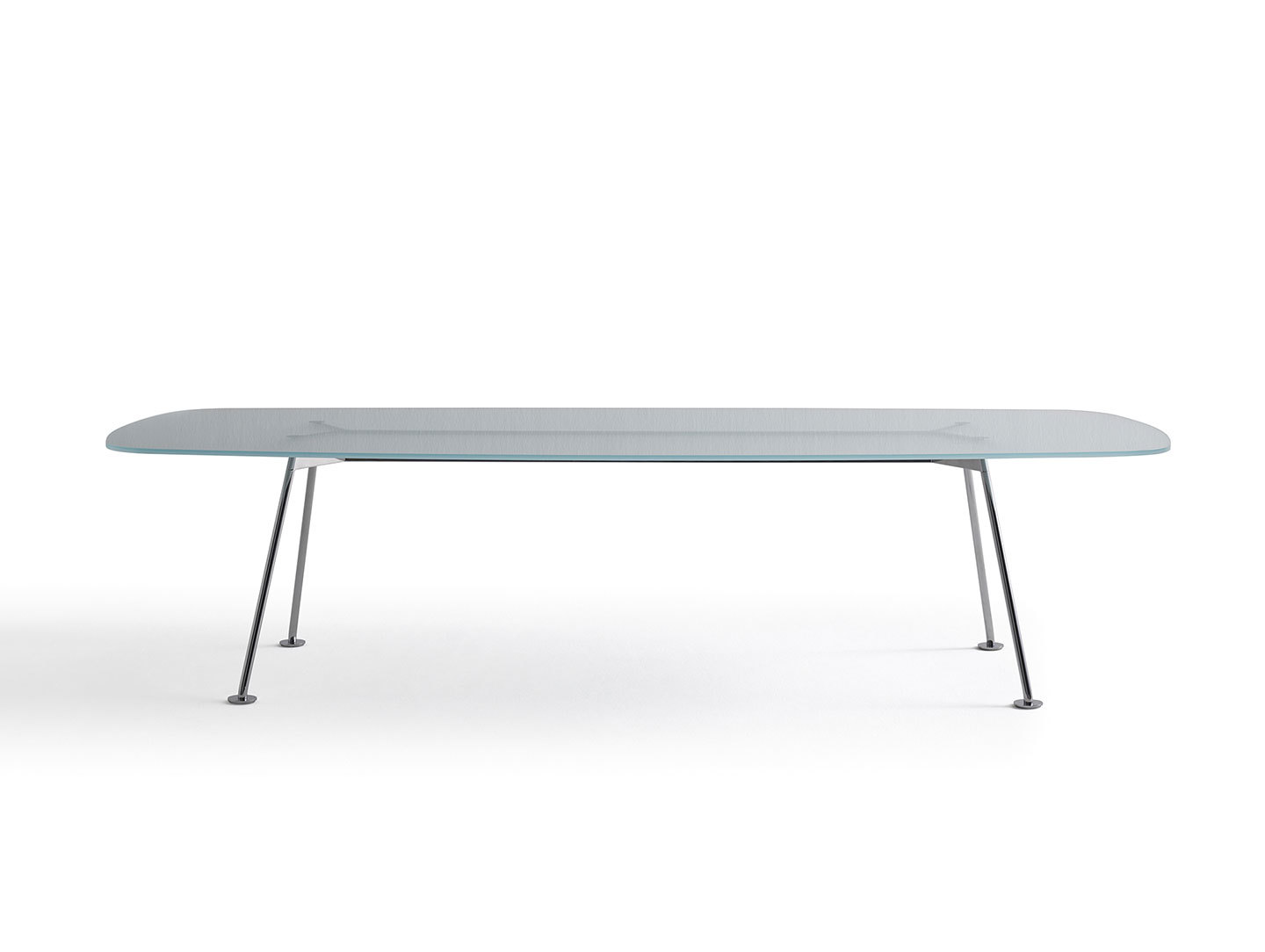 Knoll Grasshopper Table Glass Piero Lissoni