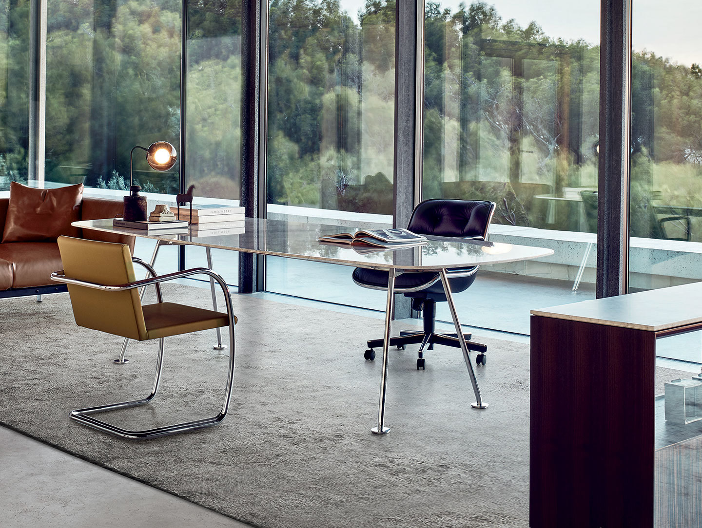 Knoll Grasshopper Table Office Piero Lissoni