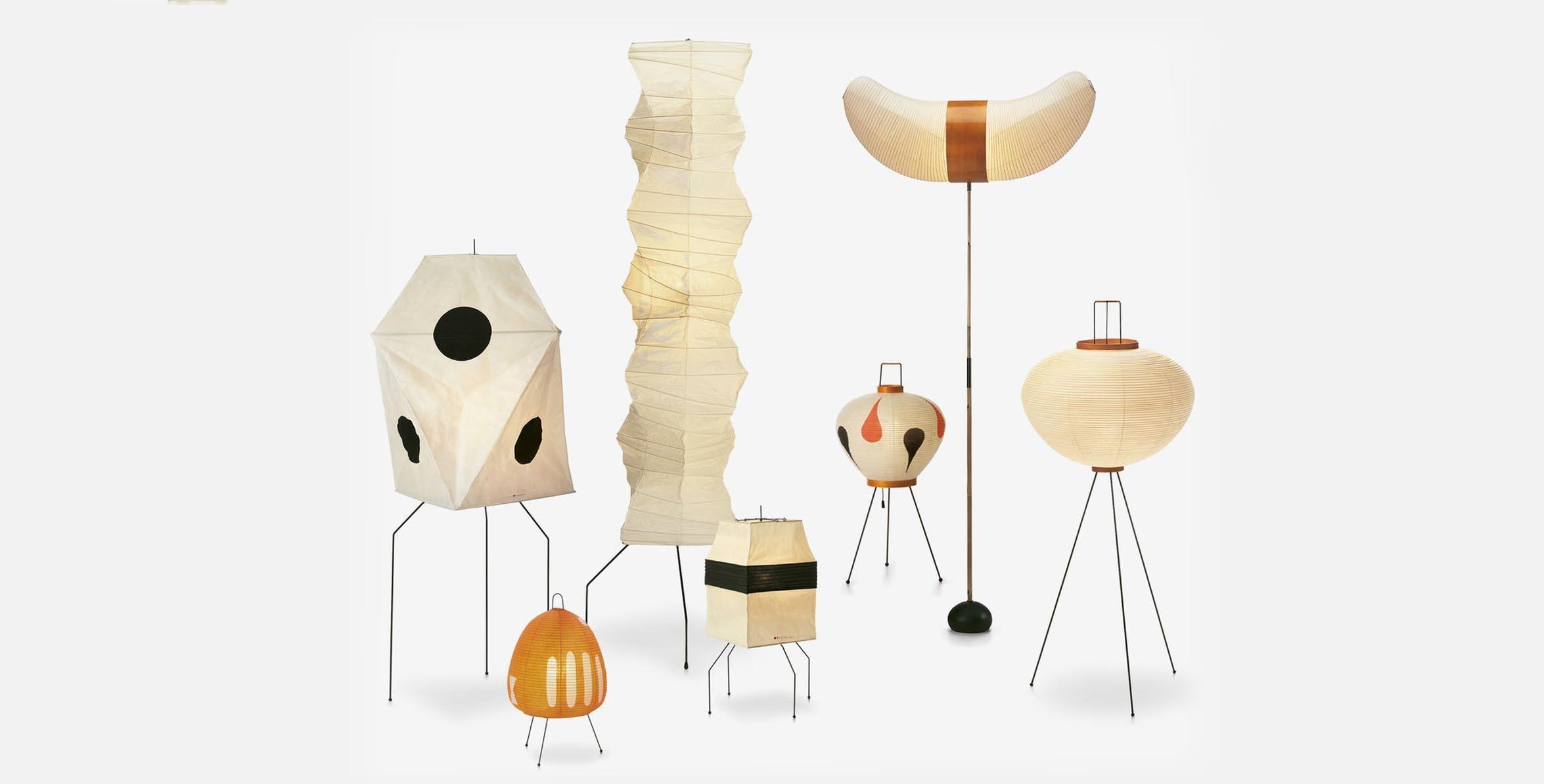 Designer Isamu Noguchi