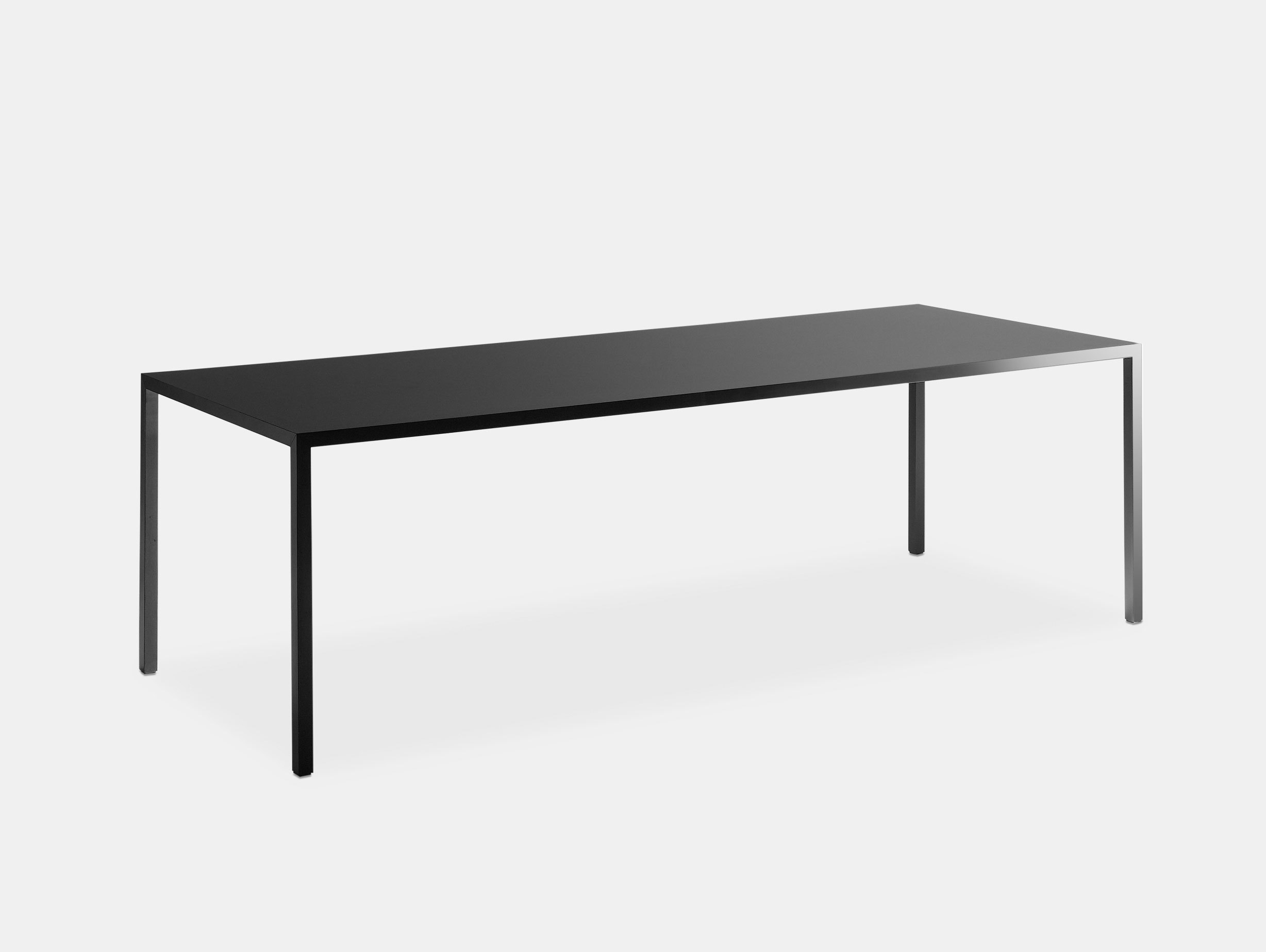 Mdf Italia Tense Table Black Piergiorgio Cazzaniga