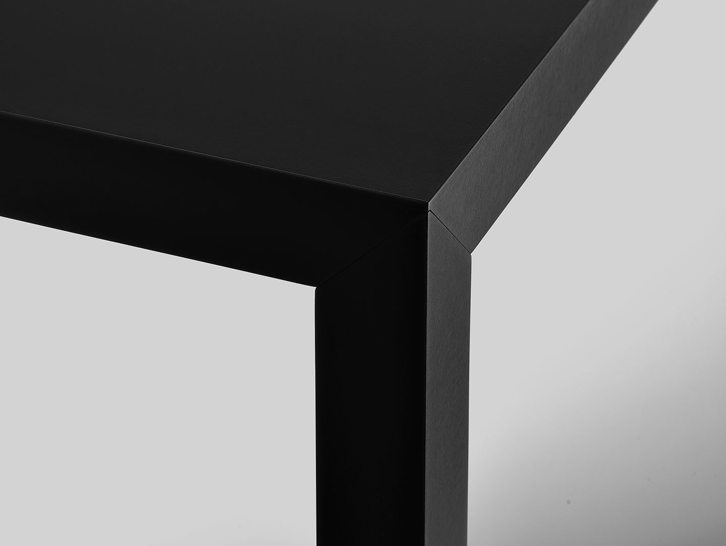 Mdf Italia Tense Table Black Detail Piergiorgio Cazzaniga