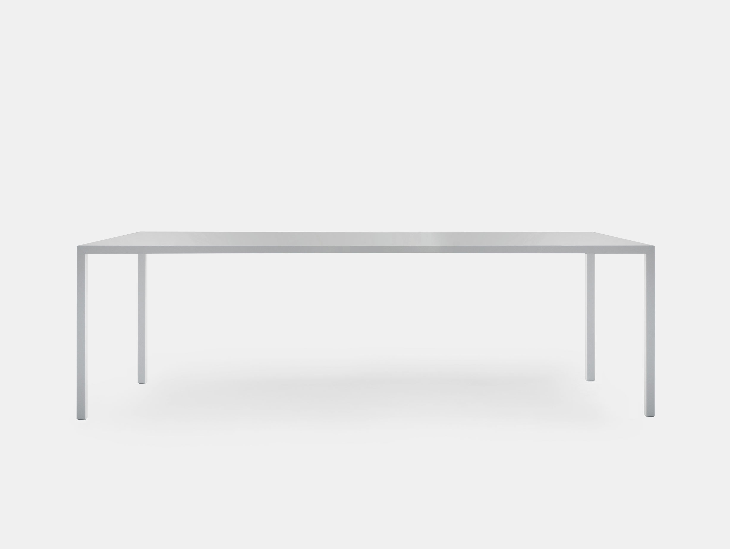 Mdf Italia Tense Table White Piergiorgio Cazzaniga