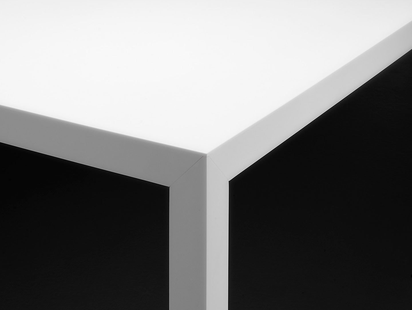 Mdf Italia Tense Table White Detail Piergiorgio Cazzaniga