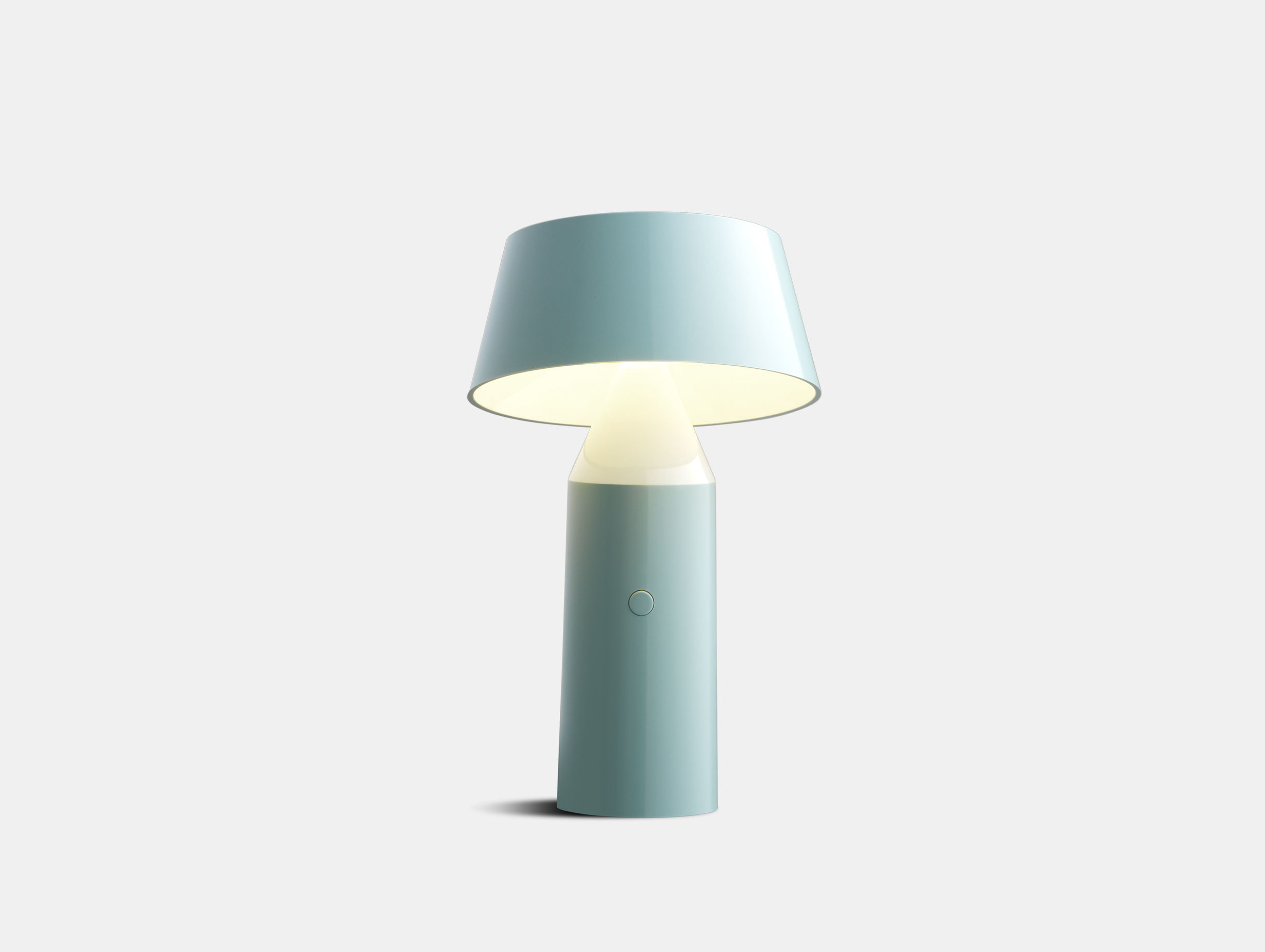 Marset Bicoca Portable Table Lamp Pale Blue Christophe Mathieu