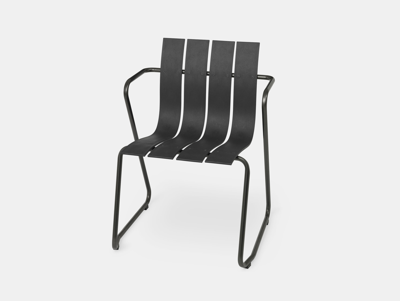Mater Ocean Chair Black Nanna Ditzel