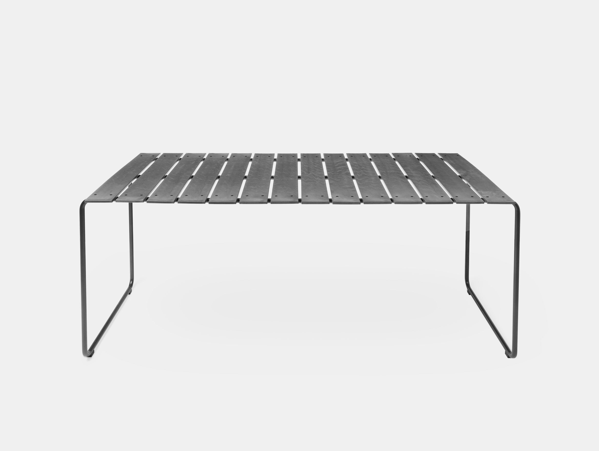 Mater Ocean Table 140X70 Concrete Grey Nanna Ditzel