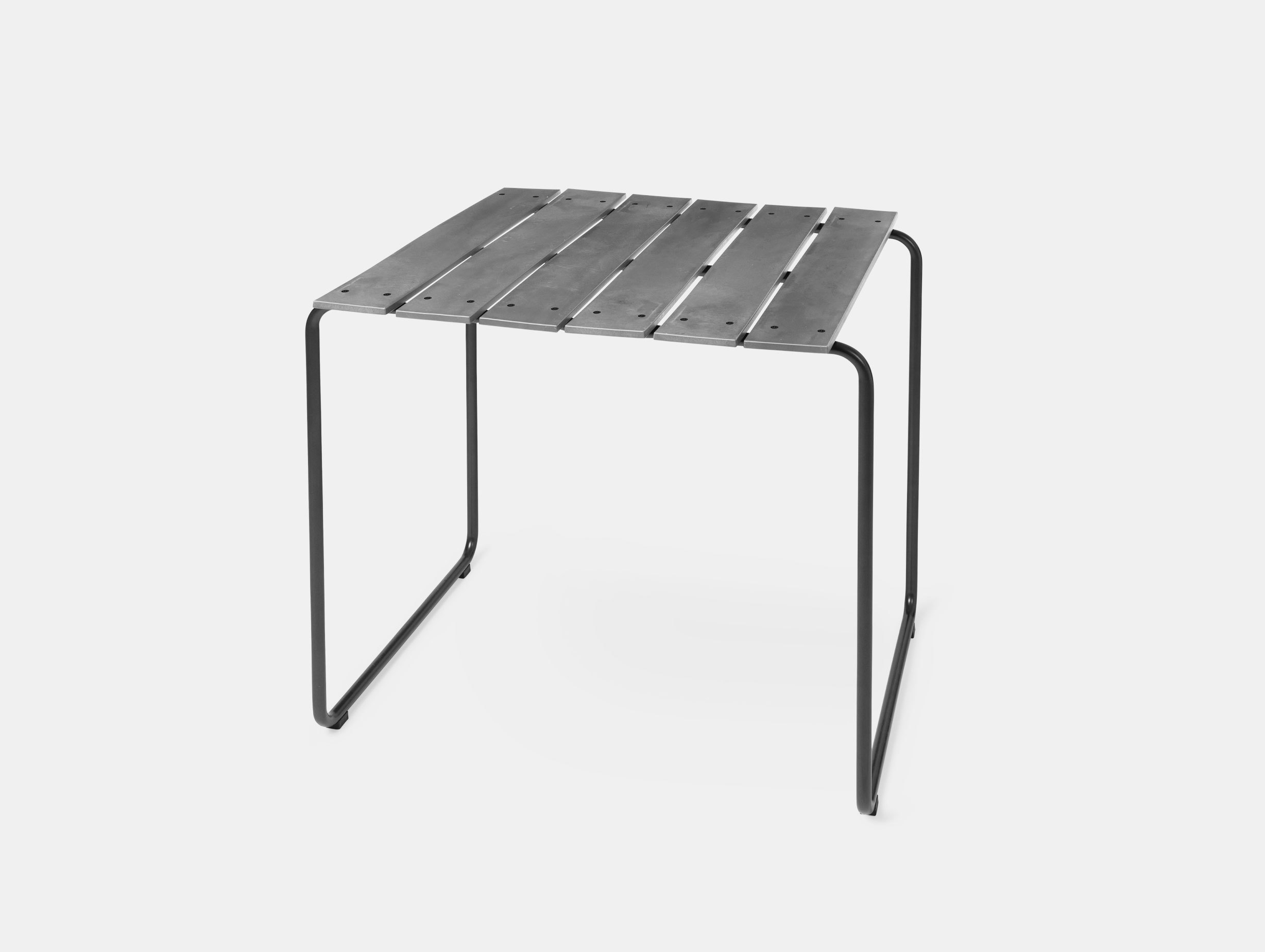 Mater Ocean Table 70X70 Concrete Grey Nanna Ditzel