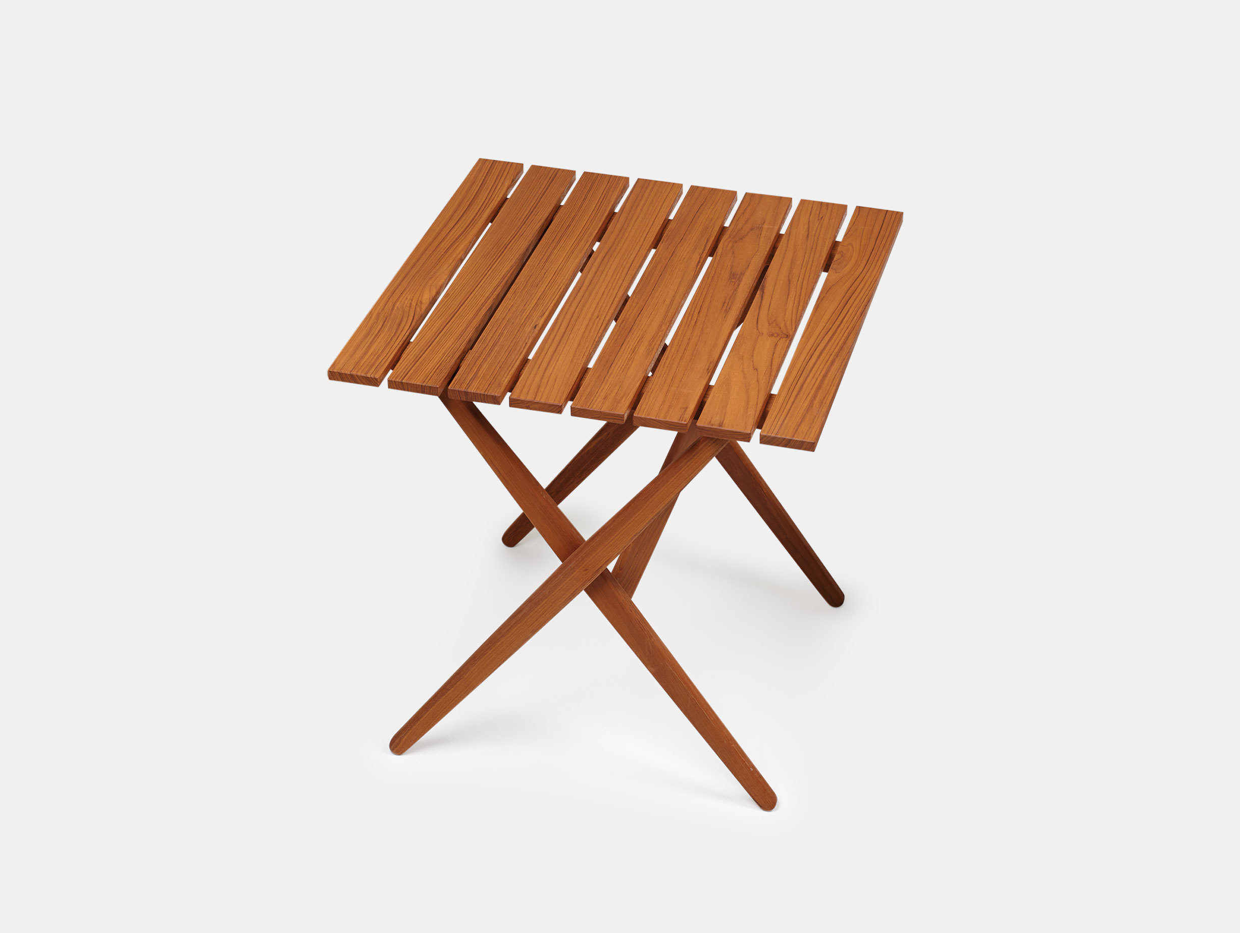 Mattiazzi Fionda Outdoor Table Teak Jasper Morrison