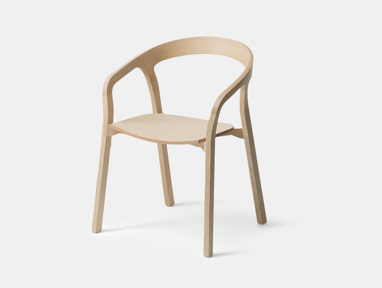 Mattiazzi She Said Chair Ash Studio Nitzan Cohen
