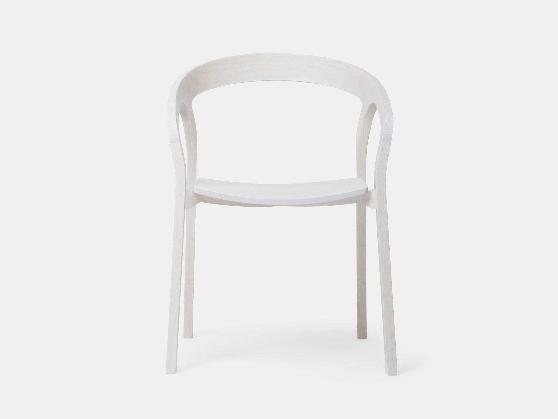 Mattiazzi She Said Chair White Ash Studio Nitzan Cohen