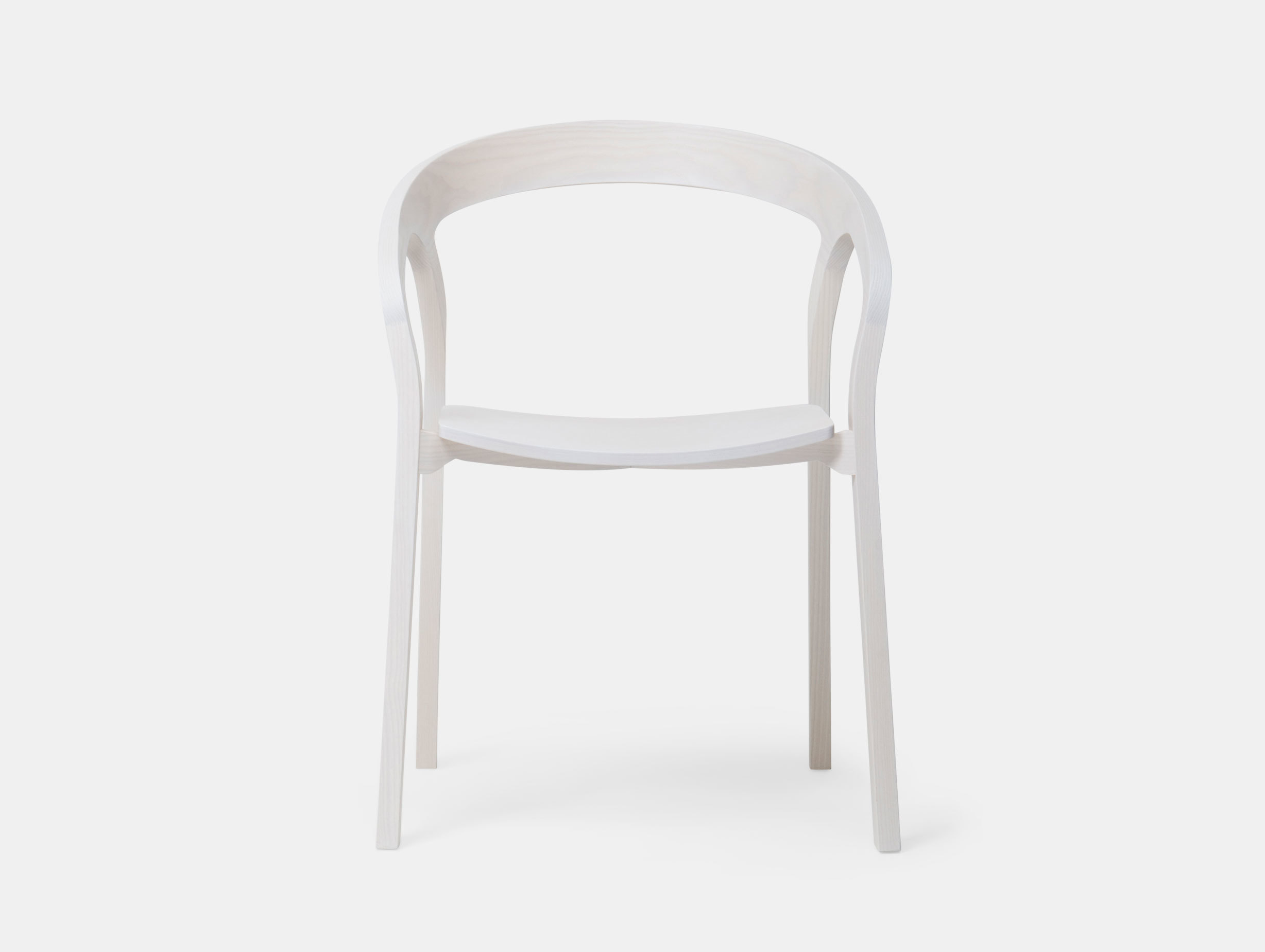 Mattiazzi She Said Chair White Ash Studio Nitzan Cohen