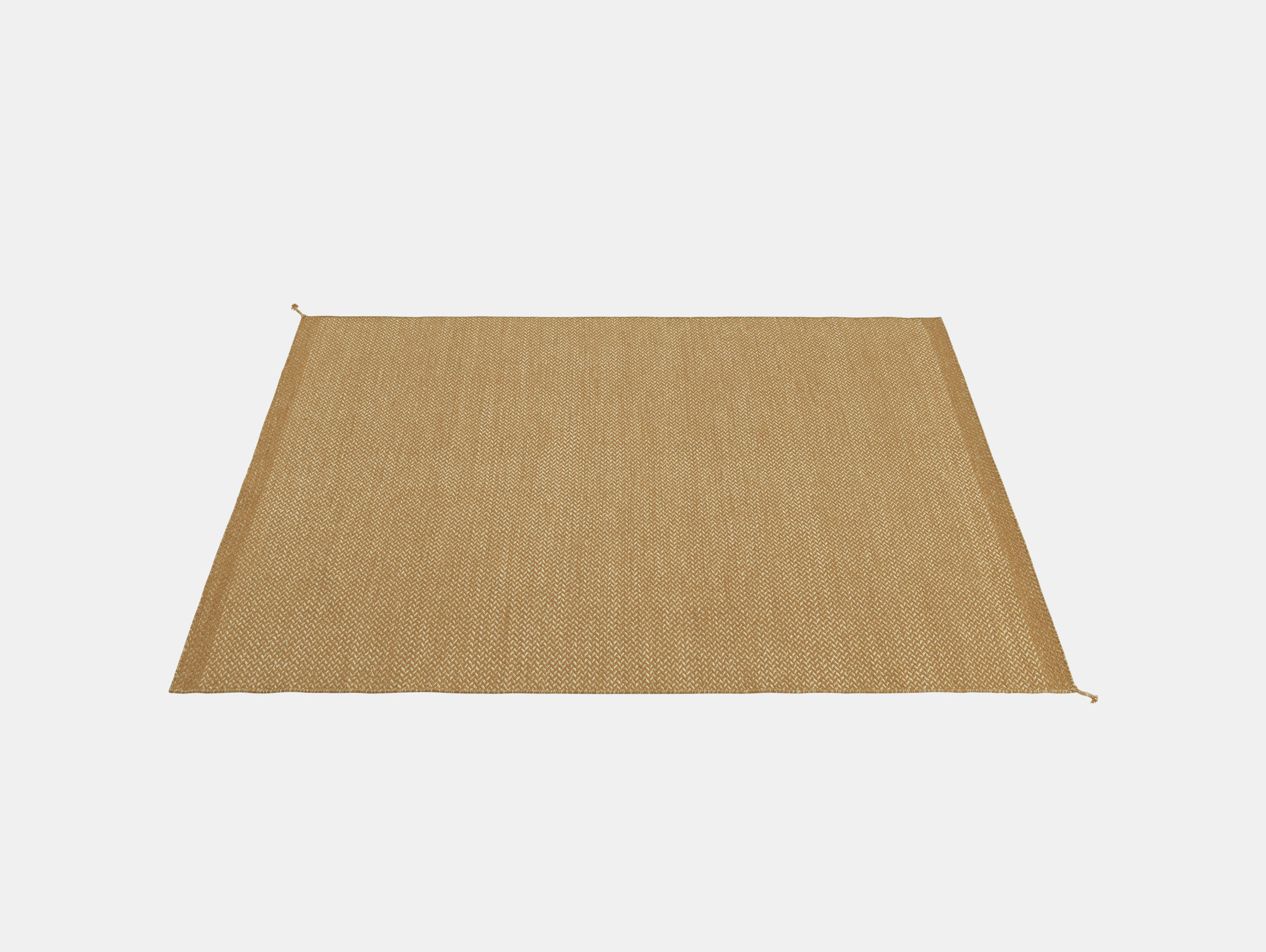 Muuto Ply Rug 240X170 B Orange Margrethe Odgaard