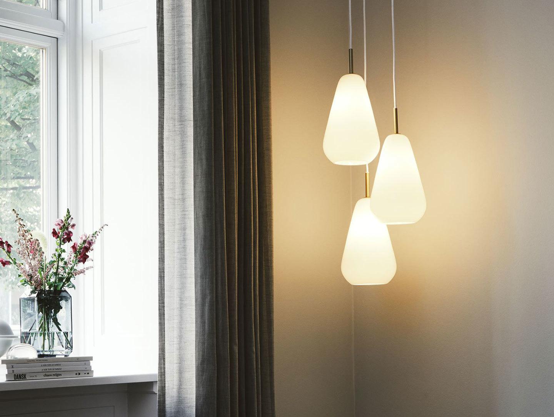 Nuura Anoli 3 Pendant Light Opal Sofie Refer