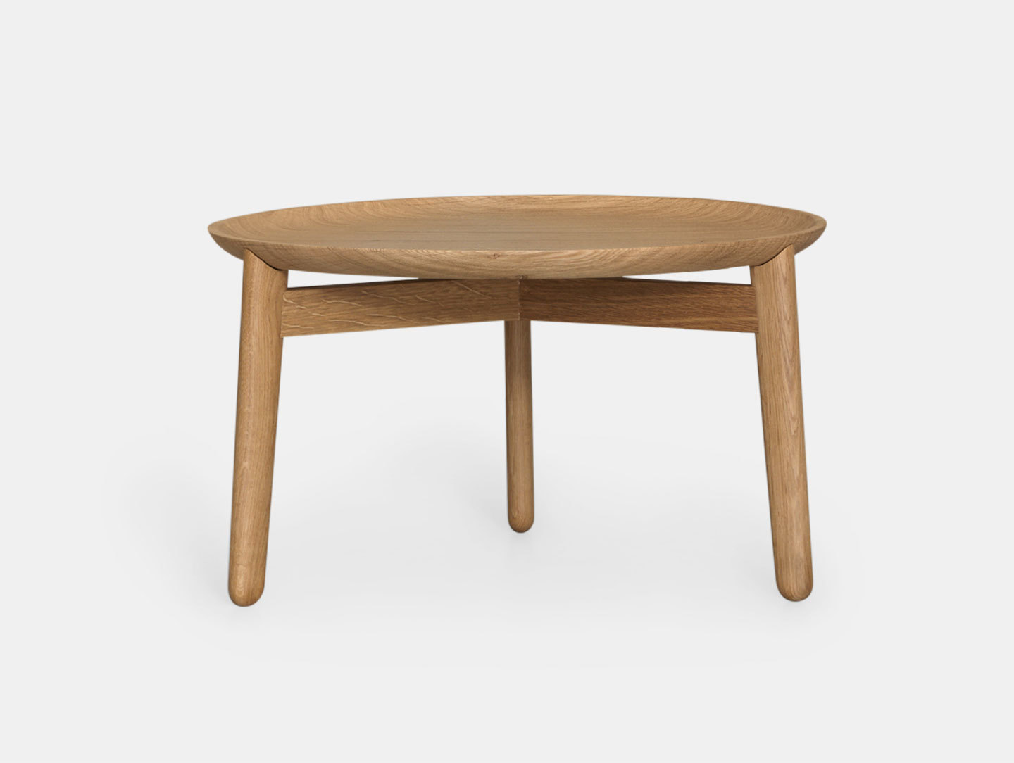 Zeitraum Plaisir Table Oak Dia54 H32 Formstelle