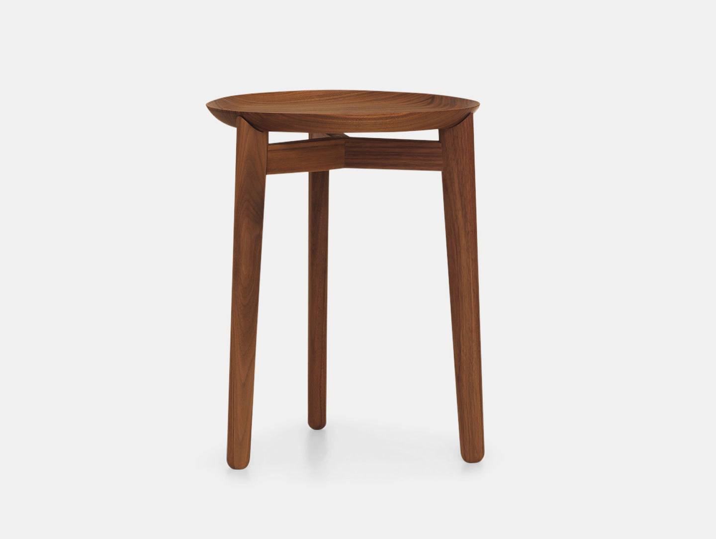 Zeitraum Plaisir Table Walnut Dia35 H46 Formstelle