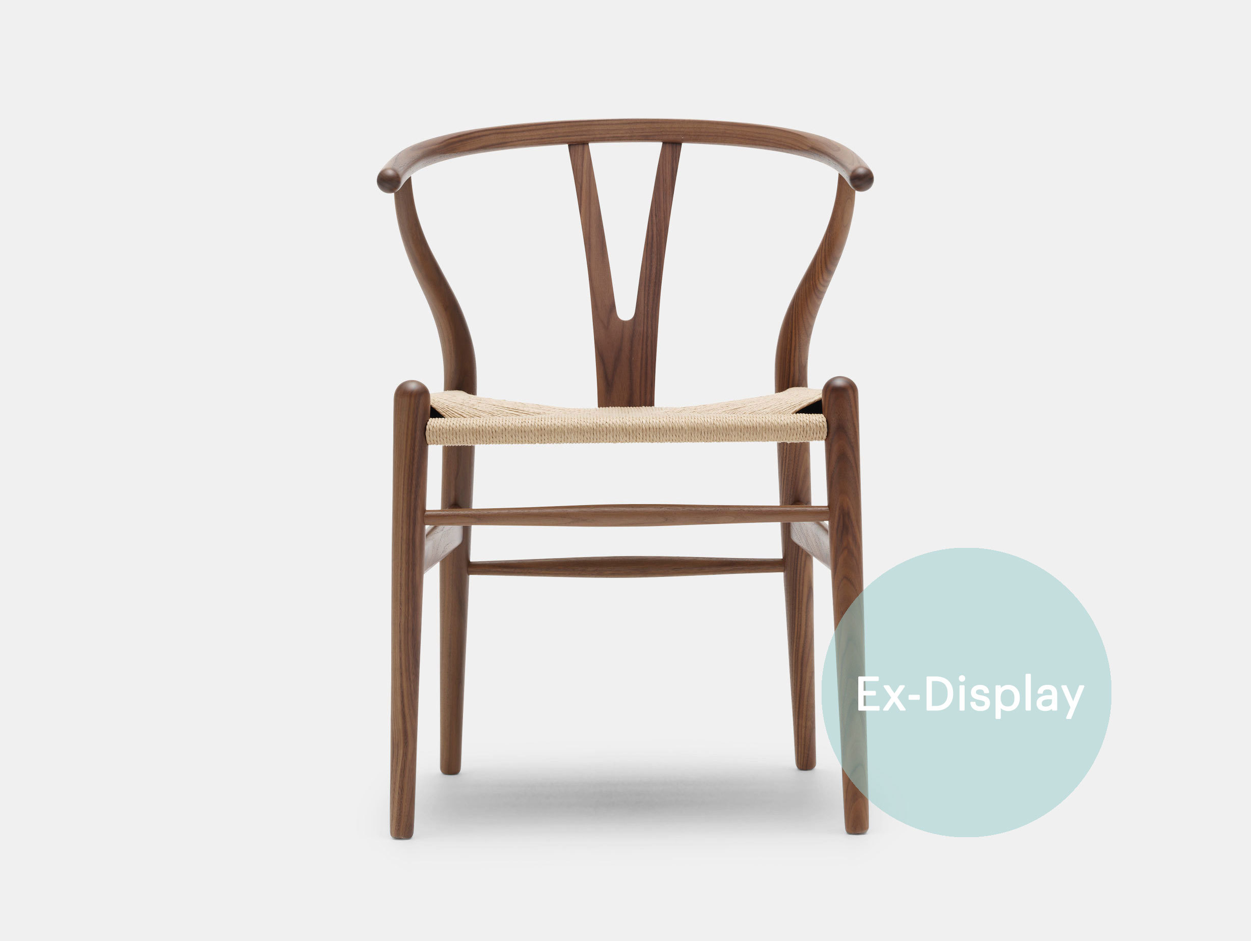 CH24 Wishbone Chair, walnut / 30% off at £744 image 1