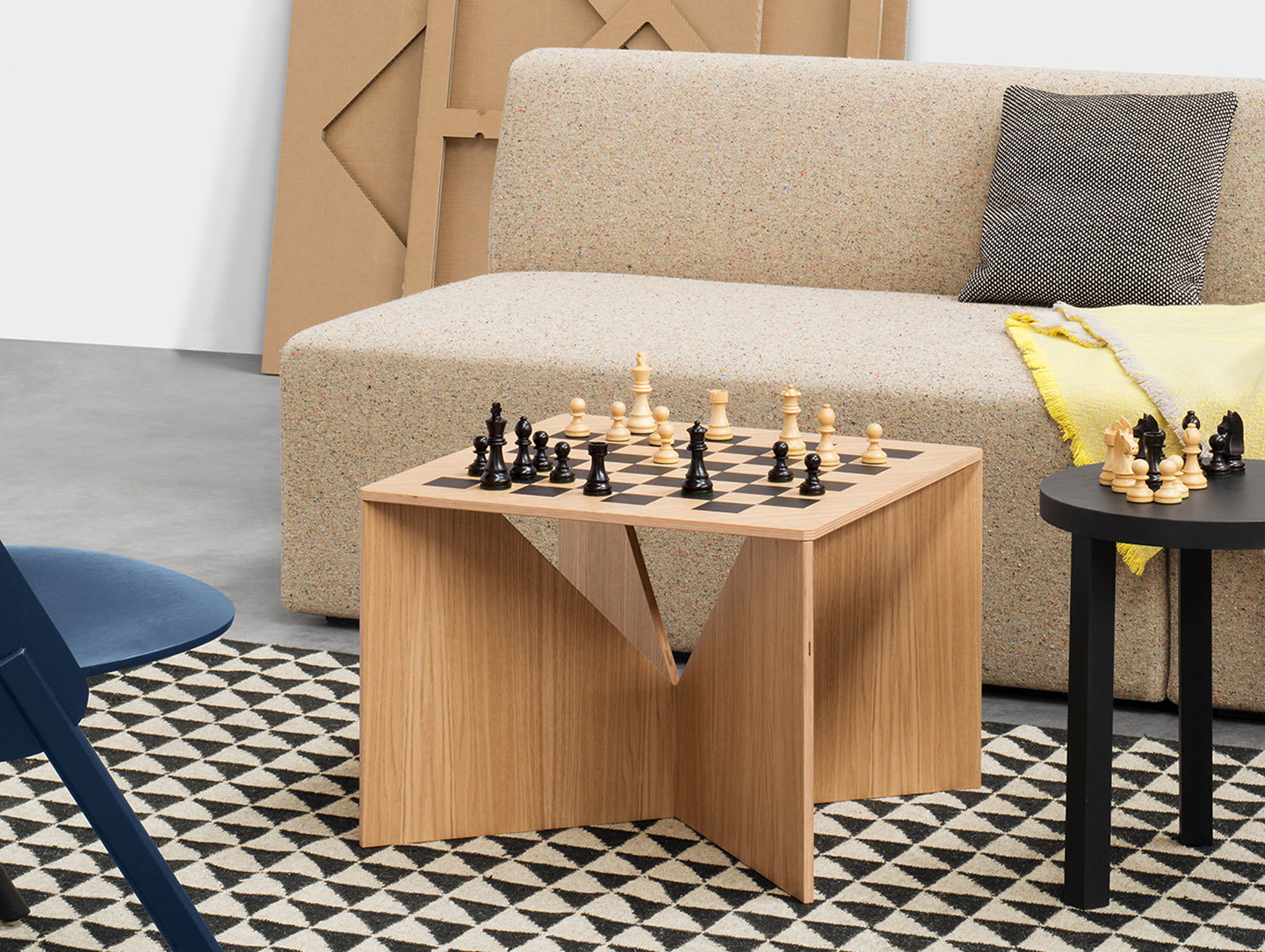 E15 Calvert Chess Coffee Table Philipp Mainzer