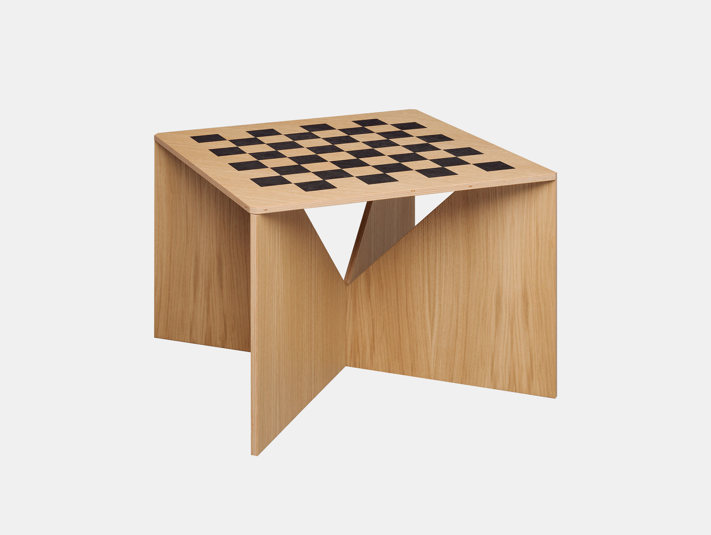 E15 Calvert Chess Coffee Table Oak Philipp Mainzer