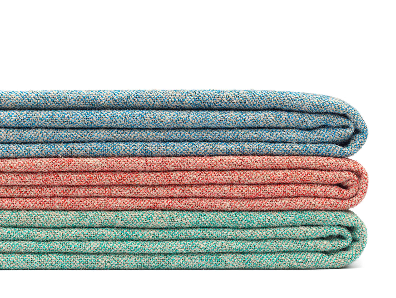 E15 Estiva Blankets Sapphire Coral Emerald