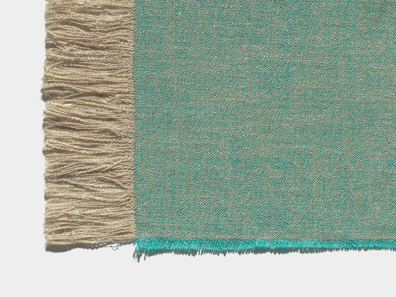 E15 Estiva Blanket Emerald Detail
