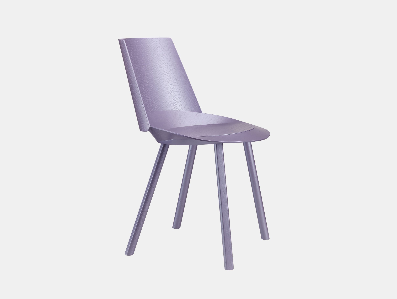 E15 Houdini Chair Astro Violet Stefan Diez