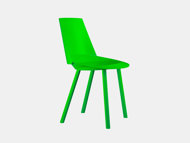 E15 Houdini Chair Atomic Green Stefan Diez