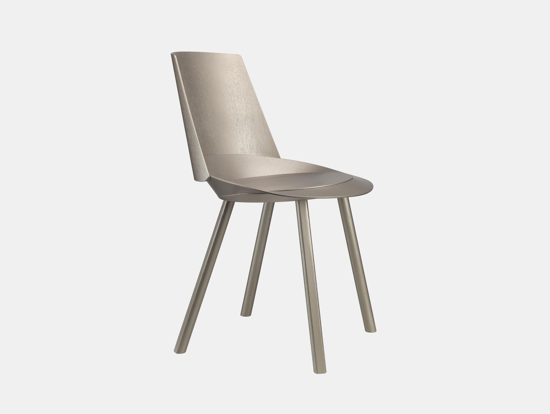E15 Houdini Chair Platinum Stefan Diez