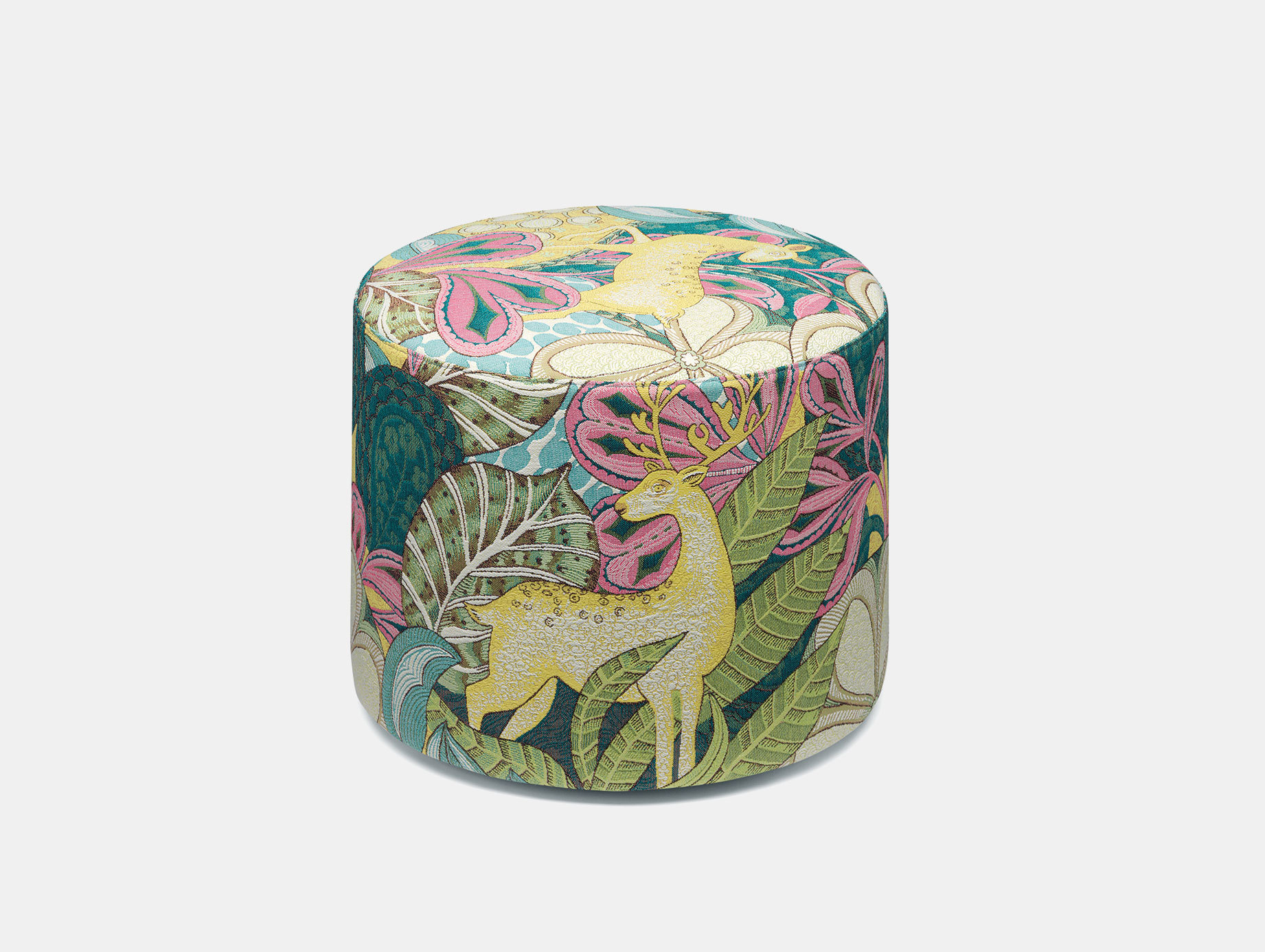 E15 Kerman Pouf Alice Fabric