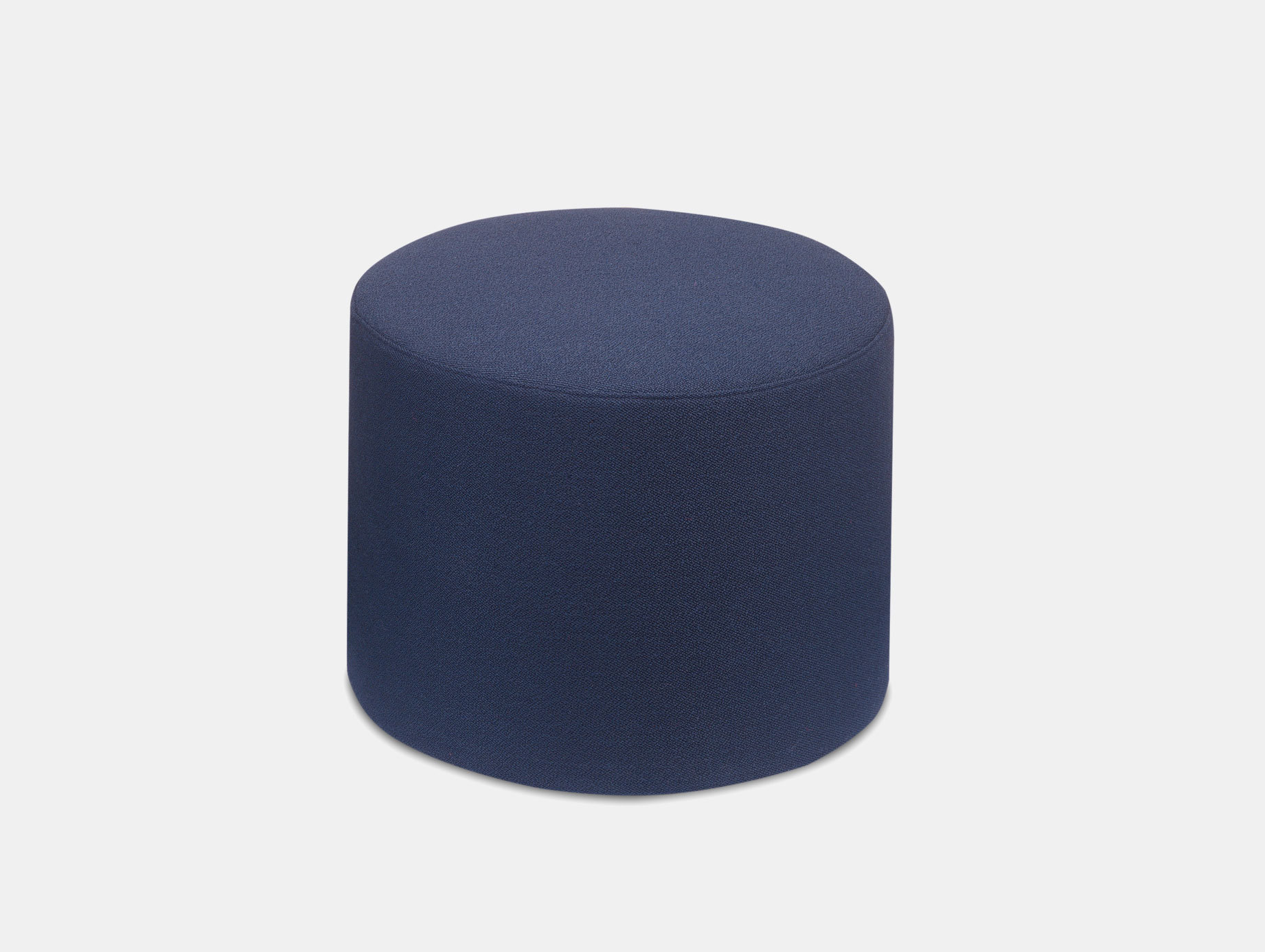 E15 Kerman Pouf Blue Fabric