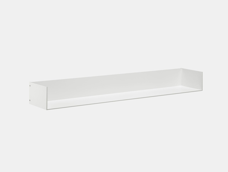 E15 Profil Shelf W Ends White Jorg Schellmann