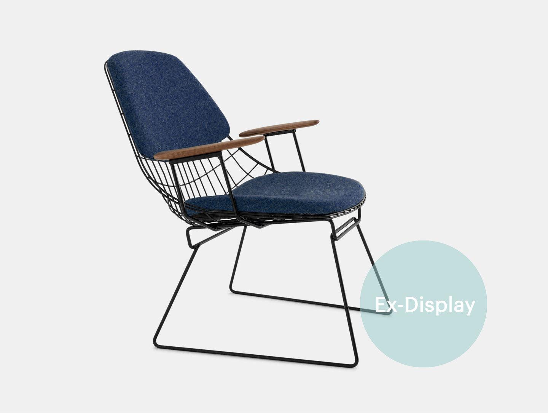 Pastoe Fm06 Lounge Chair Blue Ex Display