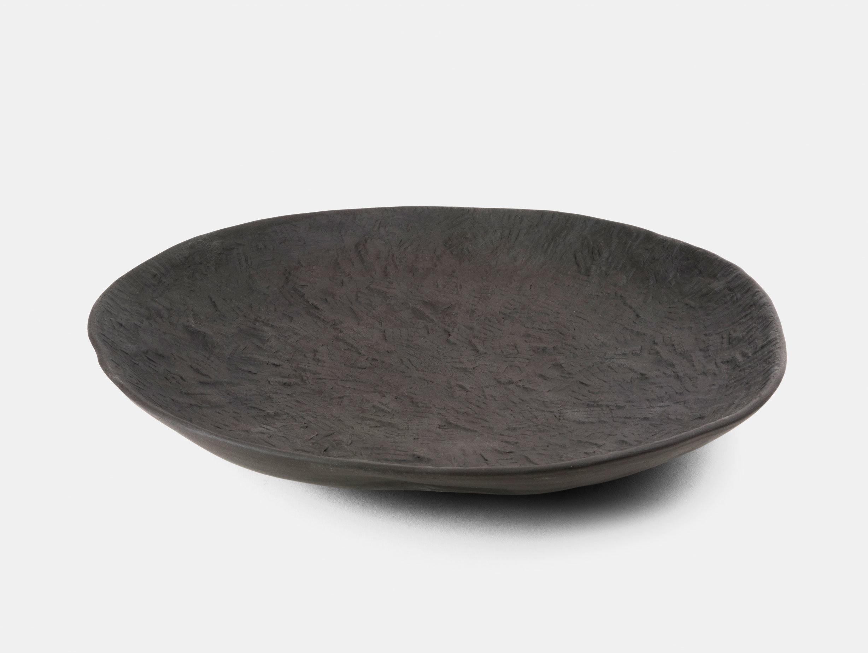 1882 Ltd Crockery Black Platter large Max Lamb