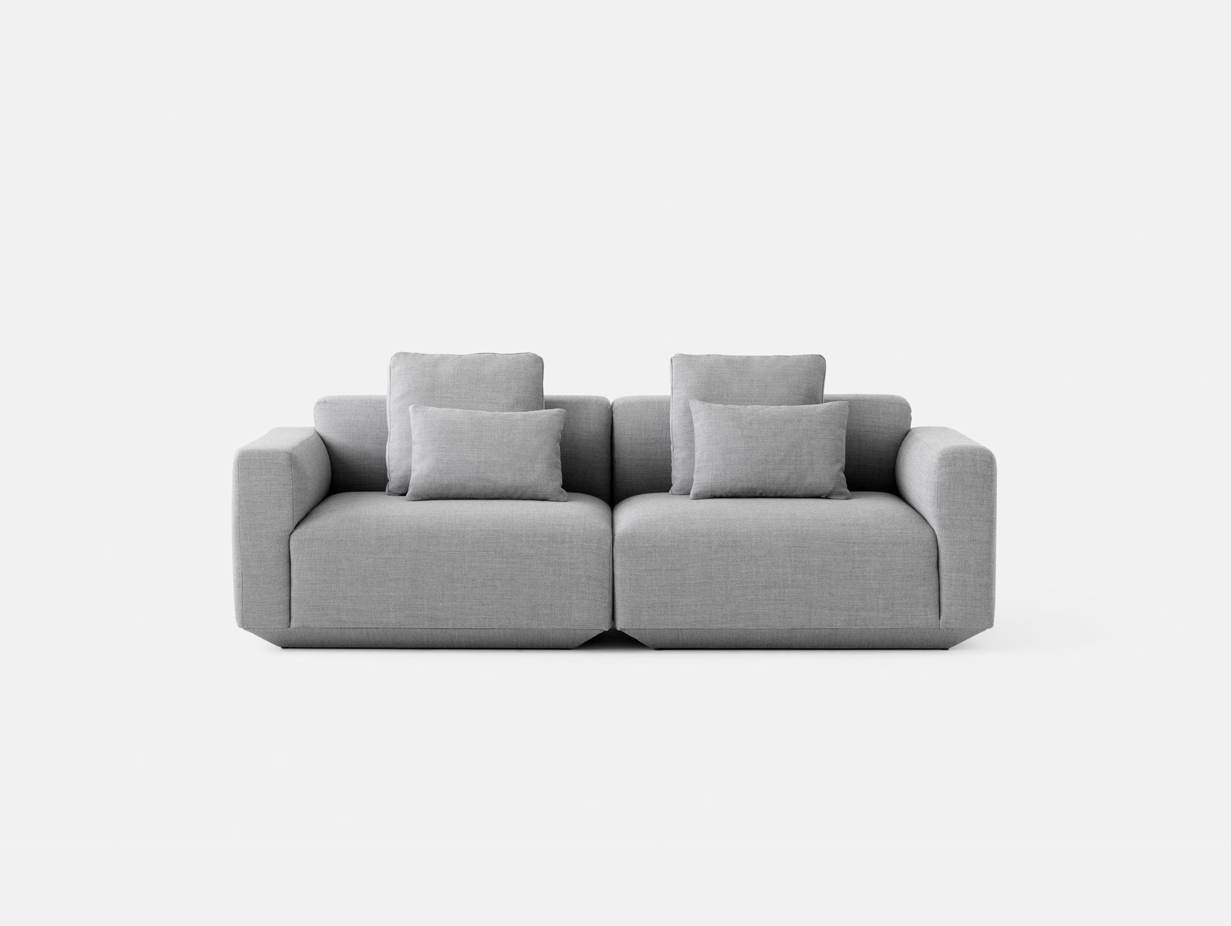 And Tradition Develius Sofa Fiord 151 fabric Configuration A Edward van Vliet