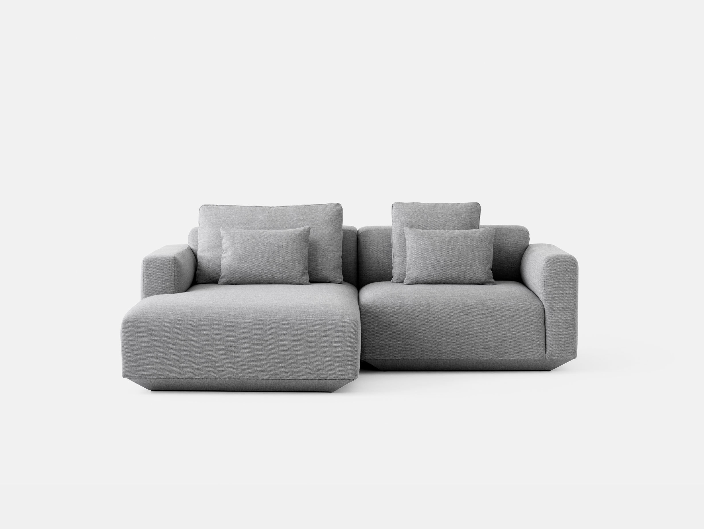 And Tradition Develius Sofa Fiord 151 fabric Configuration C Edward van Vliet