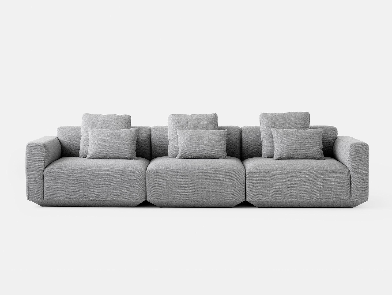 And Tradition Develius Sofa Fiord 151 fabric Configuration D Edward van Vliet