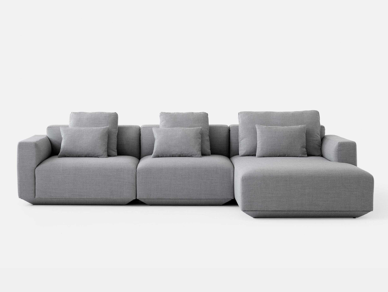 And Tradition Develius Sofa Fiord 151 fabric Configuration F Edward van Vliet