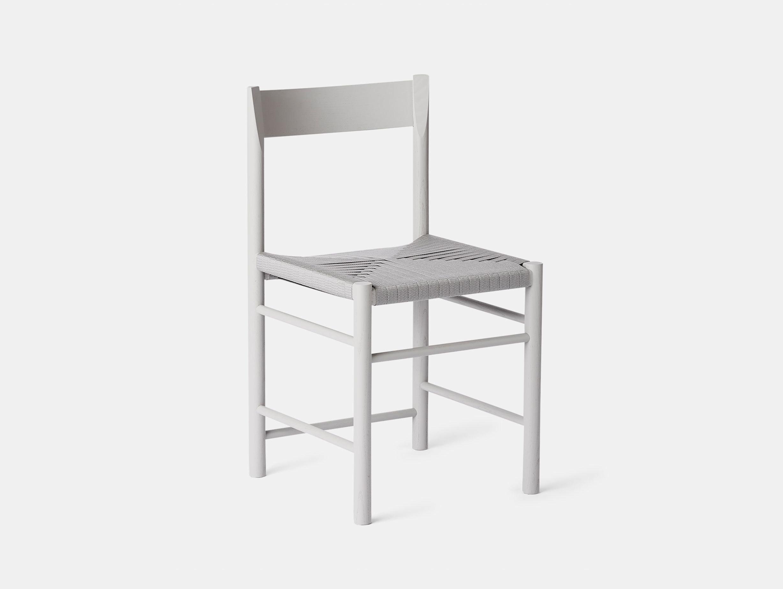 Brdr Kruger F Side Chair ash grey Rasmus Baekkel Fex