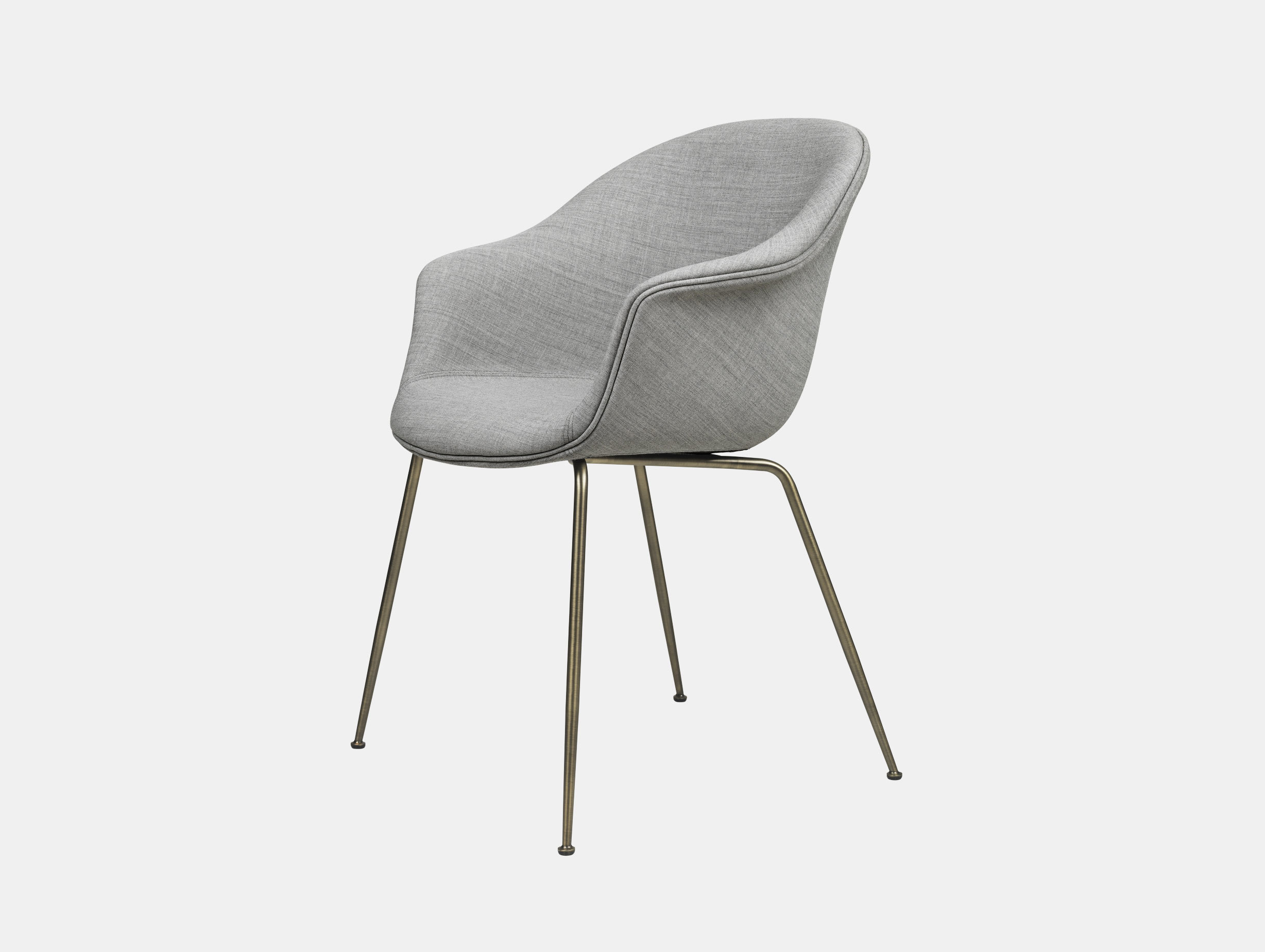 Gubi Bat Dining Chair Fully Upholstered Remix 123 Gam Fratesi