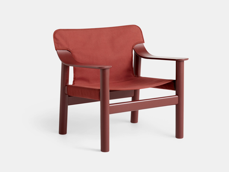 Hay Bernard Easy Chair red Shane Schneck