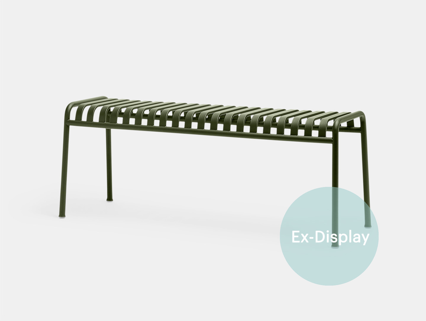 Hay Palissade Bench olive ex display