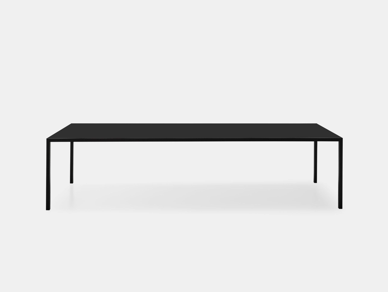 MDF Italia LIM 3 0 Table black fenix top Bruno Fattorini