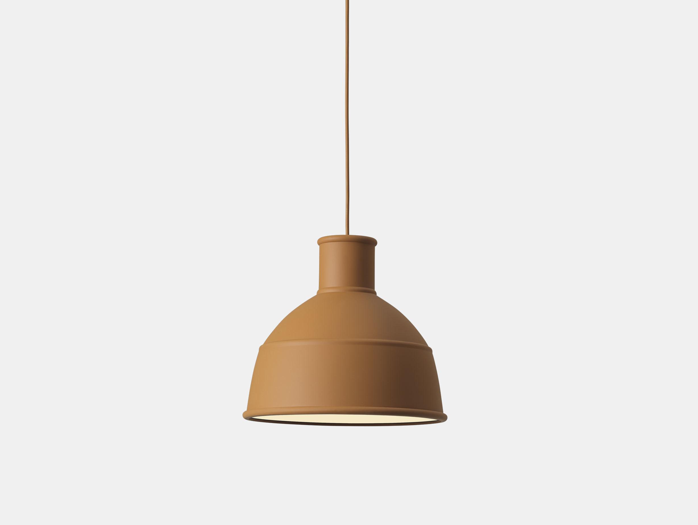 Muuto Unfold Pendant Lamp clay brown