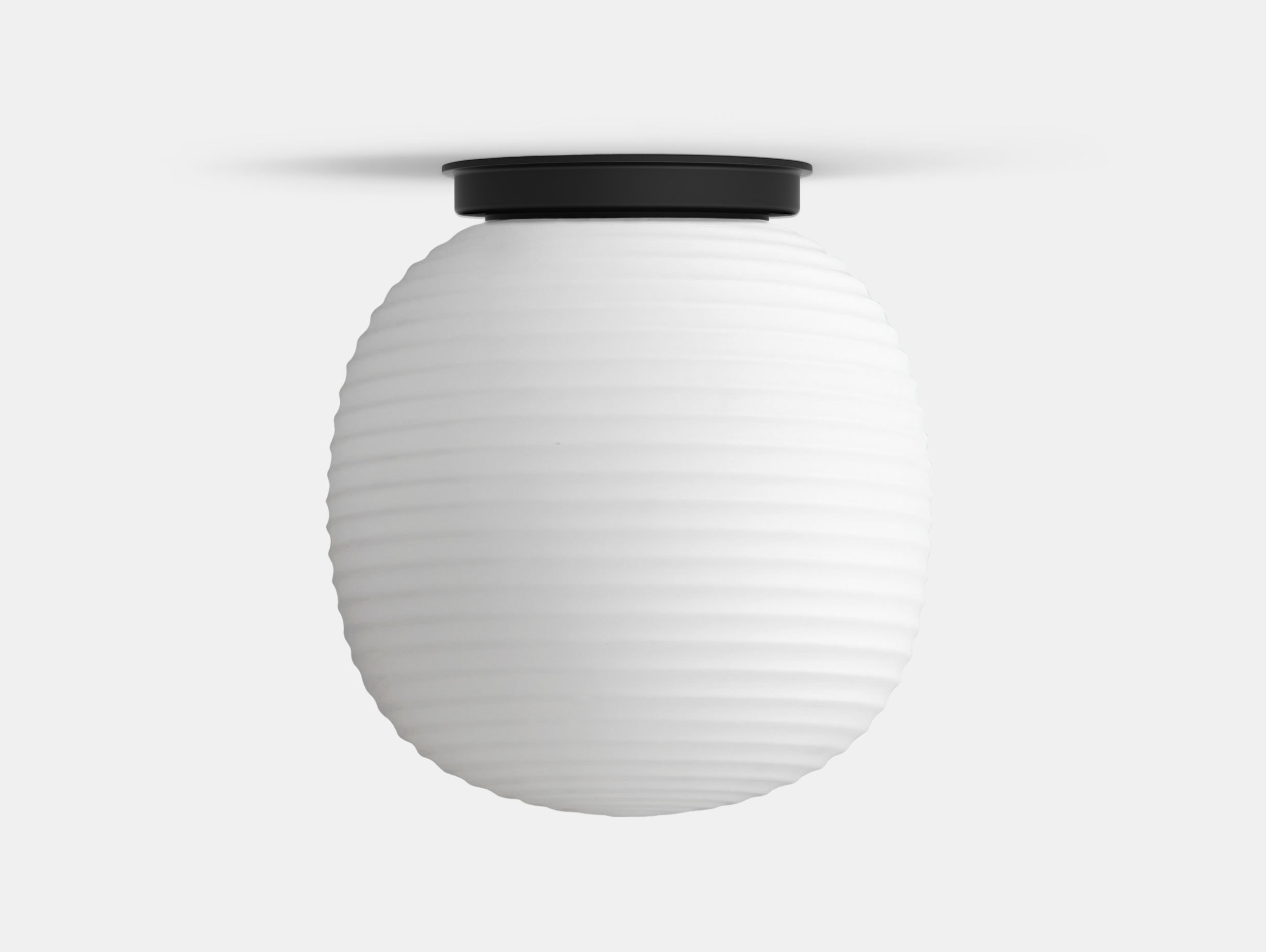 New Works Copenhagen Lantern Globe Ceiling Lamp medium Anderssen Voll