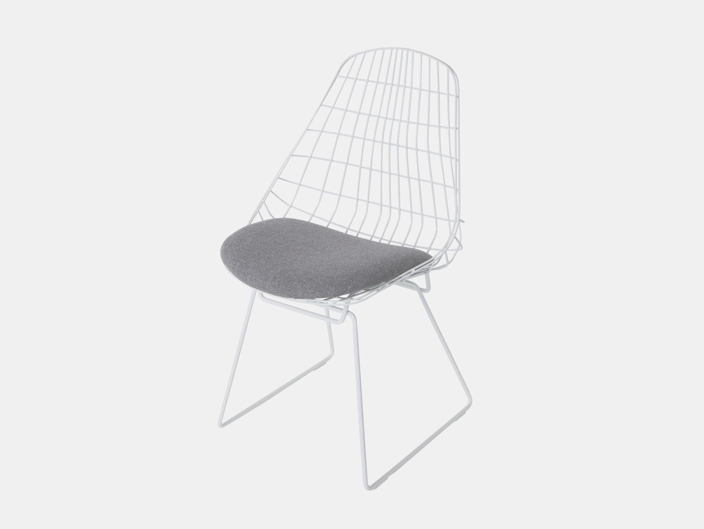 Pastoe SM05 chair paper white grey fabric seat Cees Braakman
