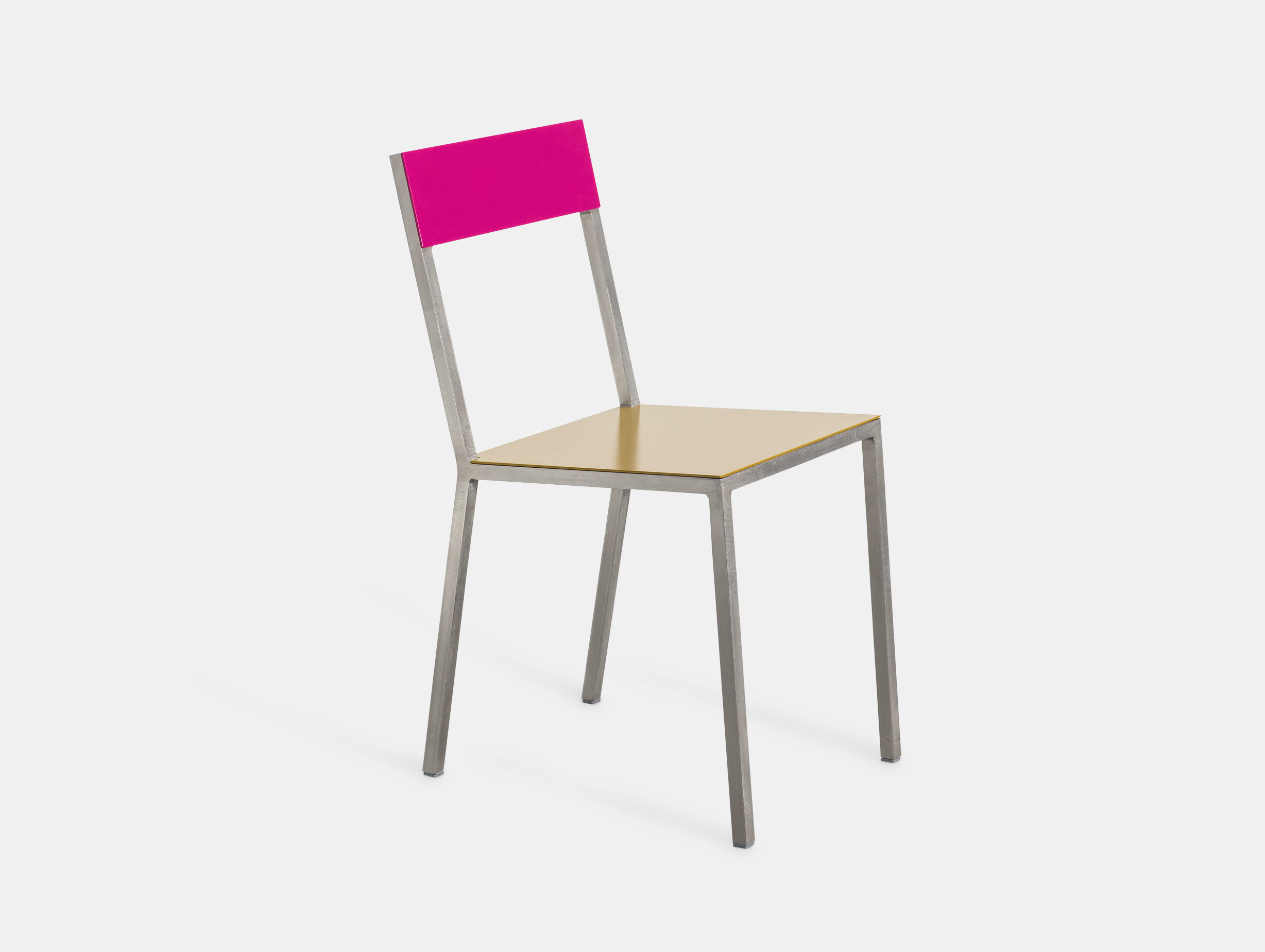 Valerie Objects Alu Chair Magenta Curry Muller Van Severen