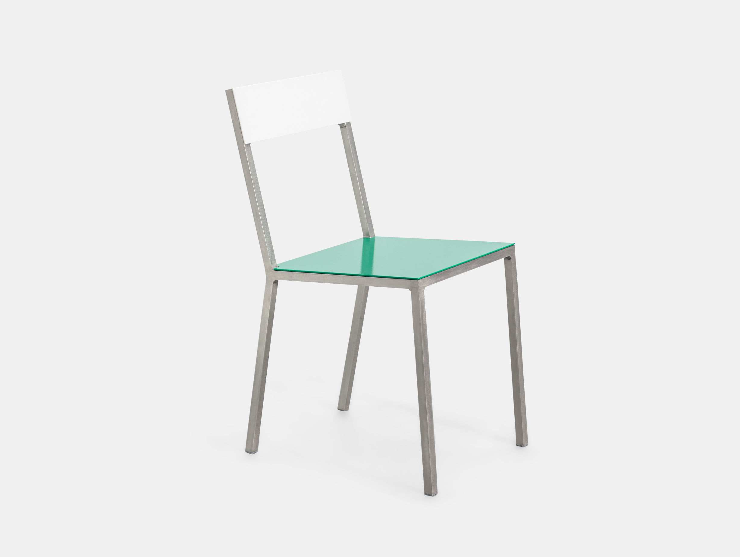 Valerie Objects Alu Chair White Green Muller Van Severen