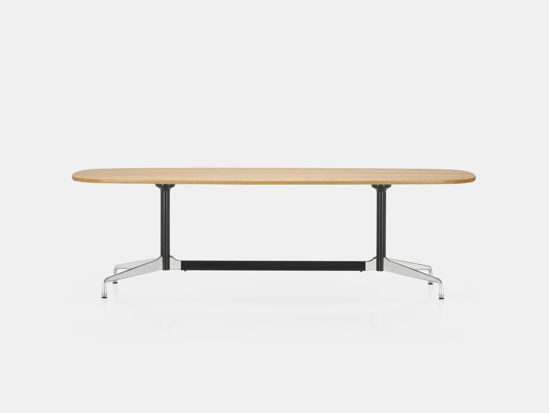 Vitra Eames Segmented Table L 280 light oak chr b dk
