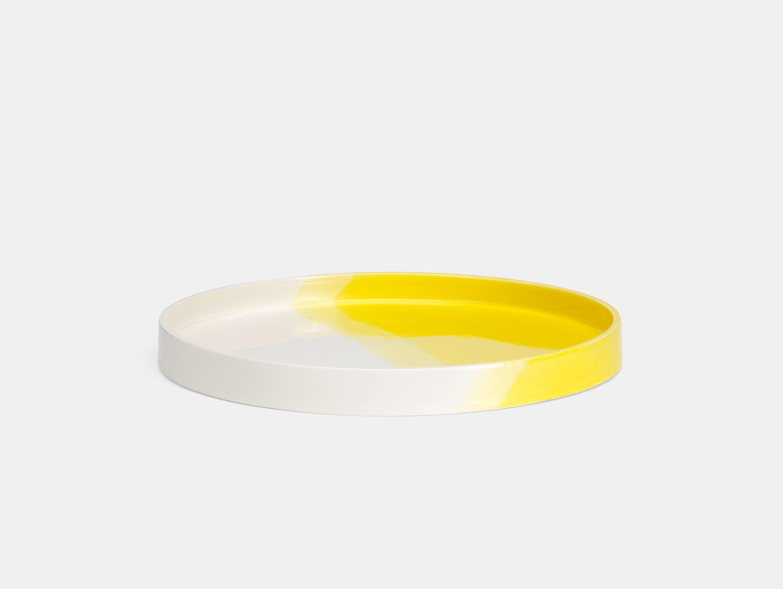 Vitra Herringbone Tray Yellow Raw Edges